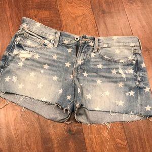Lucky Brand • Cut Off Star Shorts